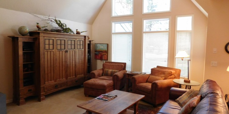 living space of home #25 at StoneRidge Townhomes