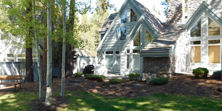 back yard of home #25 at StoneRidge Townhomes