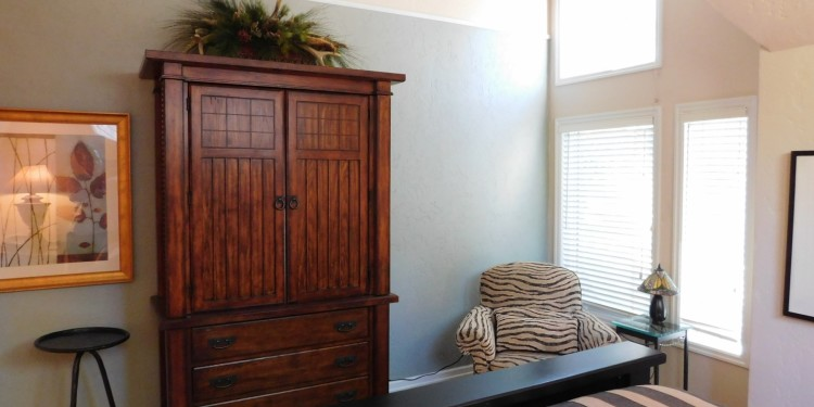dresser in home #25 at StoneRidge Townhomes