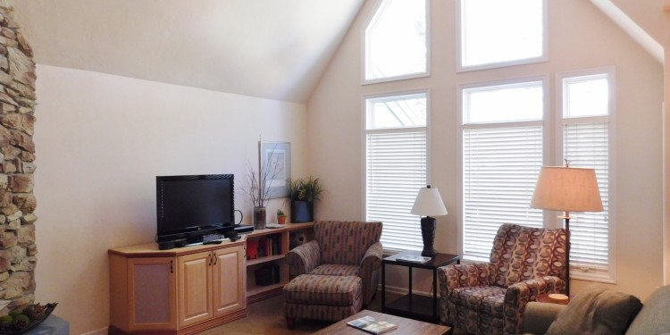 Townhome #30 living room at StoneRidge Townhomes